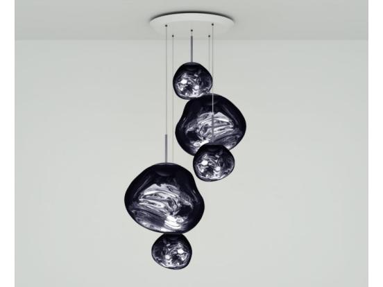 Tom Dixon - Melt LED Large Multi-Drop Pendant