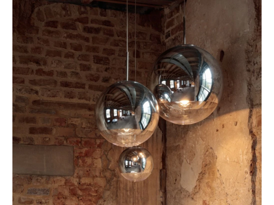 Tom Dixon - Mirror Ball Multi-Drop Pendants