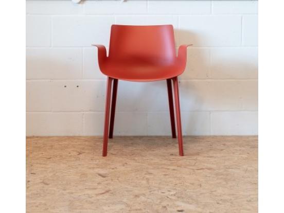 Kartell - Piuma Chair in Rust Clearance