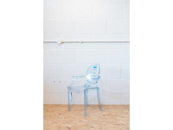 Kartell – Lou Lou Ghost Chair special edition Blue Clearance