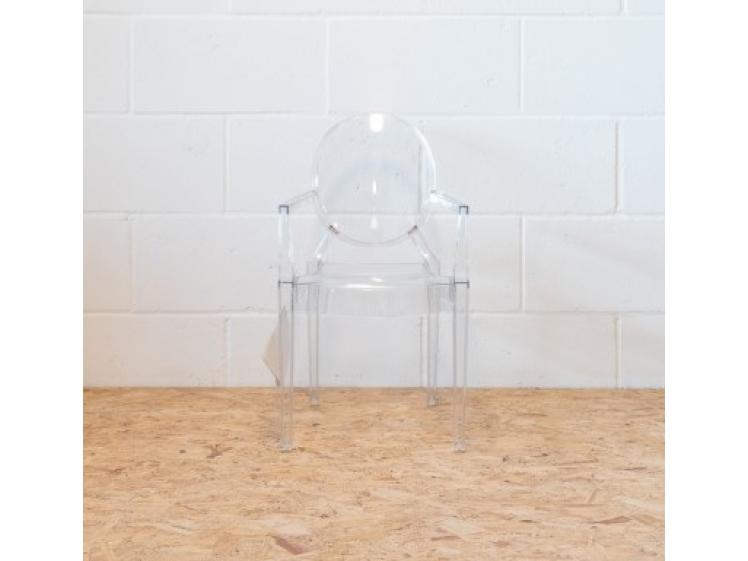 Kartell - Childrens Lou Lou Ghost Chair Clear Clearance