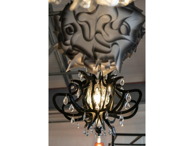 Slamp - Veli Suspension light in Charcoal Clearance