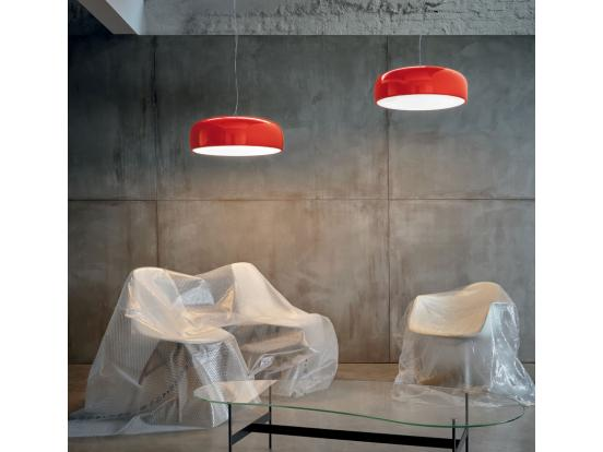 Flos - Smithfield S Green and Red Pendant