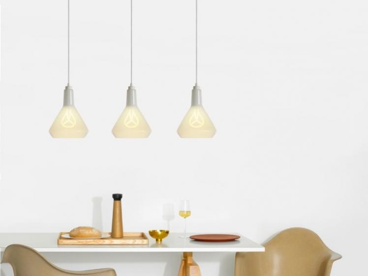 Plumen - Drop Top Lamp Shade White & White Drop Cap