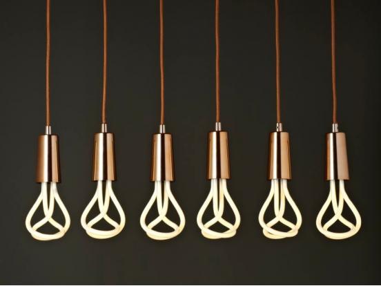 Plumen - Drop Cap Set Copper & 001 Bulb