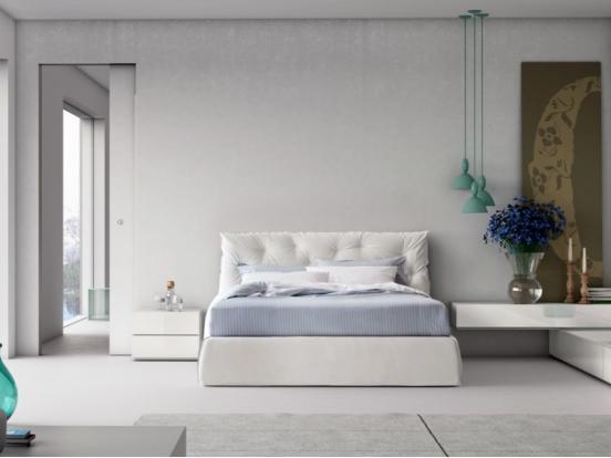 Pianca - Impunto & Plisse Frame  160 x 200 cm Bed