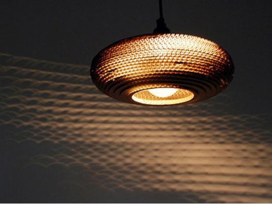 Graypants - Disc 24 Scraplight Pendant