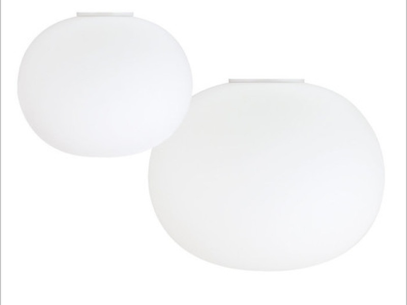 Flos glo ball c1 c2 flush fitting flos glo ball ceiling light mozeypictures Images