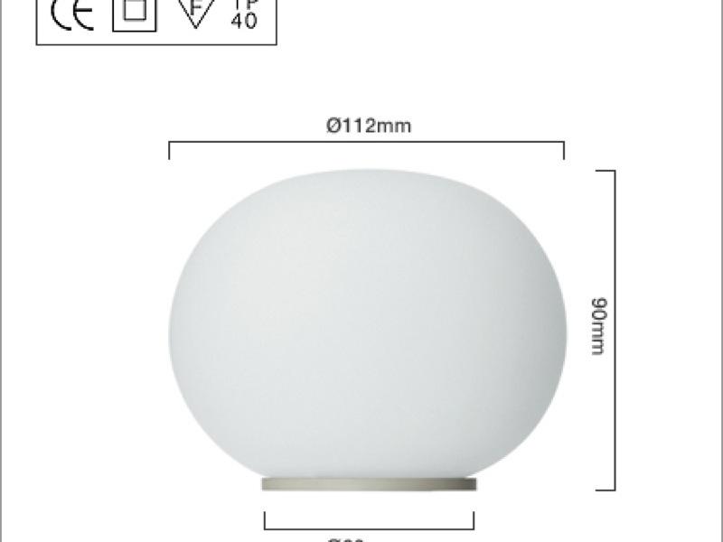 Flos - Mini Glo Ball Table Light