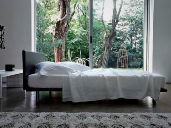 Zanotta -Milano Bed (160 x 200 cm)