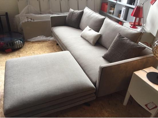 Arketipo - Moss Sofa & Footstool + Cushions Ex Display