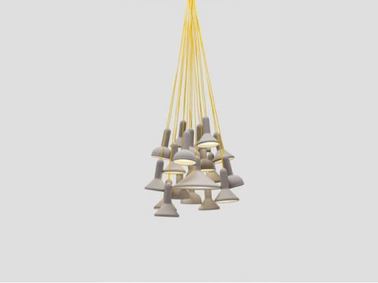 Established & Sons - Torch Bunch 20 Pendant