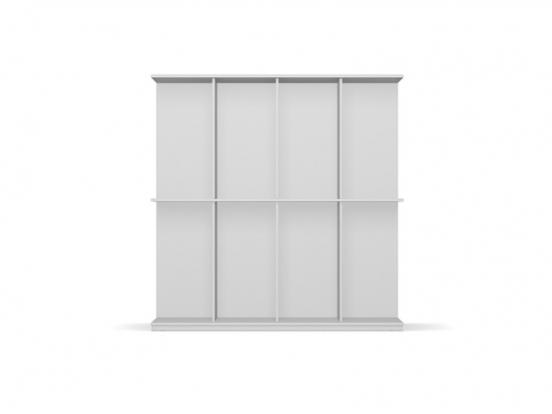 Calligaris - Division 8 Compartment Bookcase