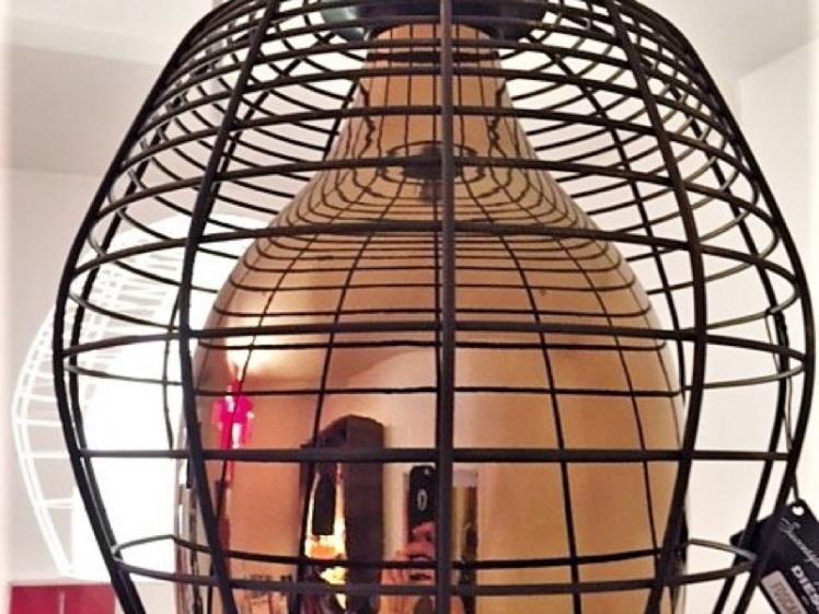 Foscarini - Cage Piccola In Bronze Clearance