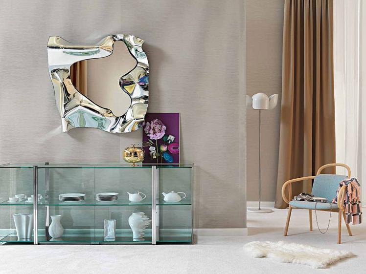 Fiam Italia - Christine Mirror Square (110 x 110cm)