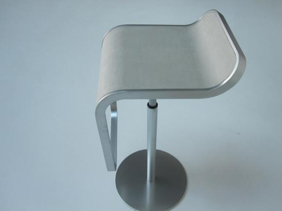 Lapalma - Lem Concrete Height Adjustable Bar Stool
