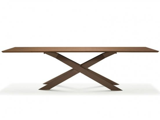 Sovet - Cross 240cm Wide Wood Table