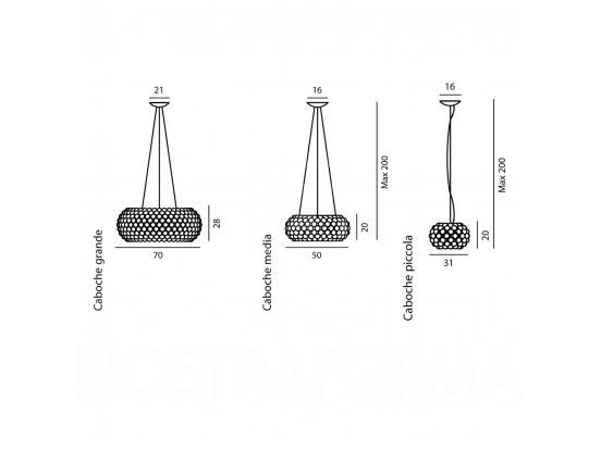Foscarini - Caboche Small Pendant