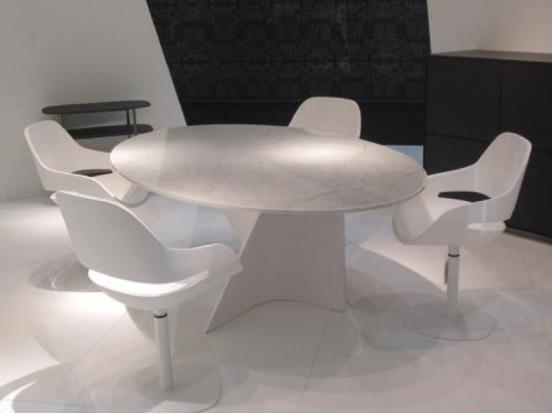 Zanotta - Elica 2575/ Round Dining Table 138 cm