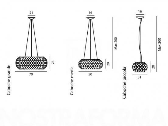 Foscarini - Caboche Large Pendant