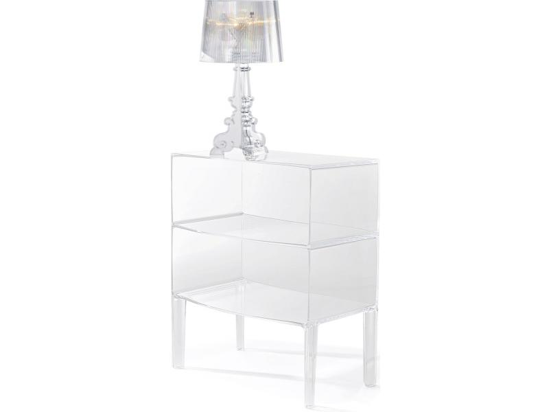 Kartell - Large Ghost Buster Table by Philippe Starck | Scossa