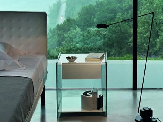 Fiam Italia - Milo Bedside Cabinets
