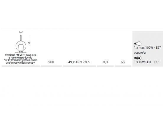 PENTA - Glo Large Pendant