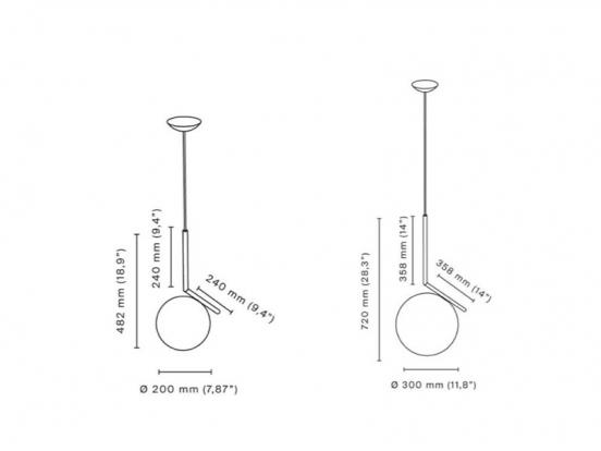 Flos - IC S1 Pendant Light