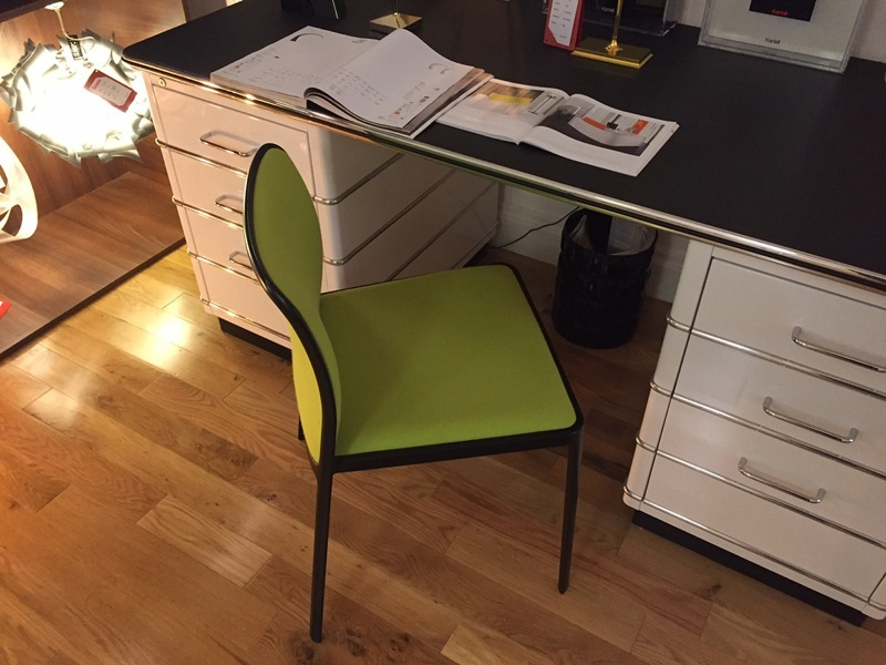 Kartell - Audrey Soft chair Clearance Green 60% Off (1 in stock)