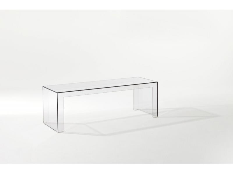 Kartell Invisible Side Coffee Table Scossa - Invisible coffee table