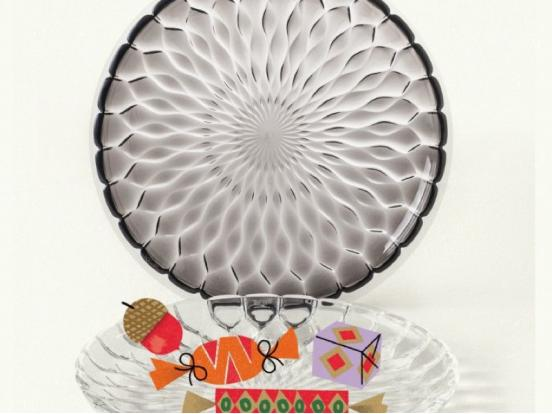 Kartell - Jelly Centrepiece Plate
