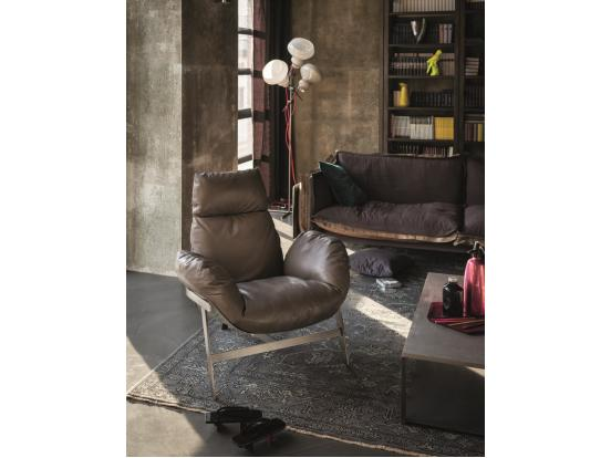 Arketipo - Jupiter Armchair & Footstool