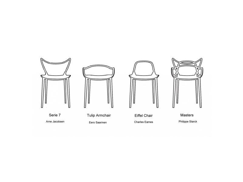 Kartell - Masters Chair | Scossa