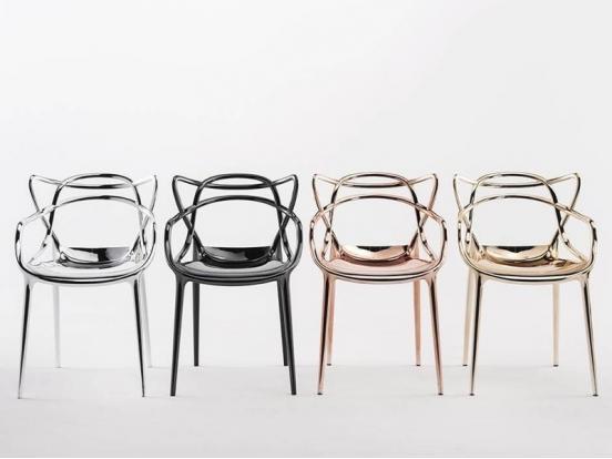 Kartell   Masters Precious Chair