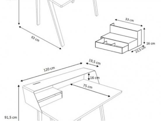 Muller Moebel - PS04 Desk