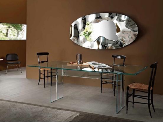 Fiam Italia - Phantom Mirror Oval (180 x 90cm)