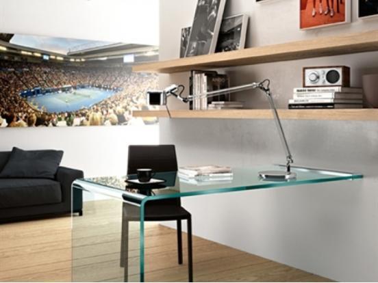 Fiam Italia - Rialto L Desk Wall Mounted