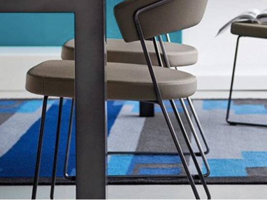 Connubia - New York Chair Sled Leg