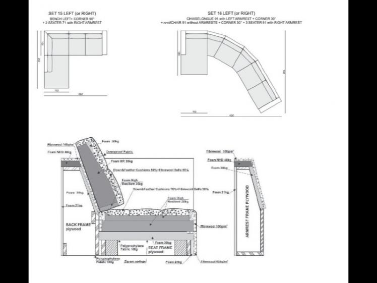 Sits - Tokyo Sofa Set 1