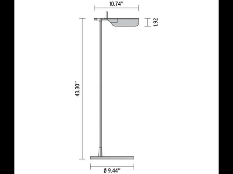 Flos - Tab LED Floor Light