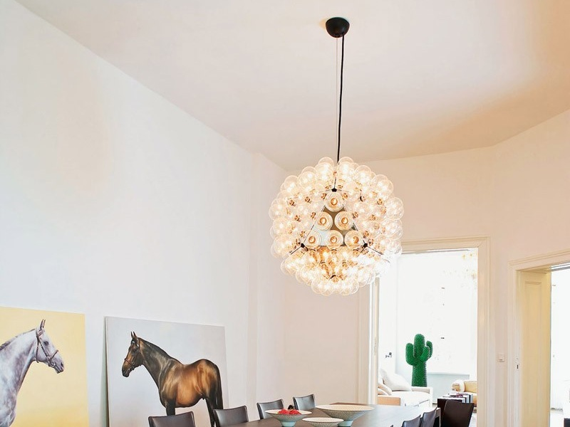 Plafoniera Flos Smithfield : Flos romeo moon suspension with perfect more views