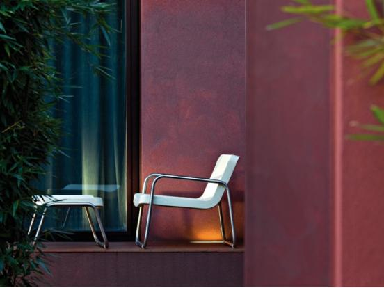 Serralunga -Time Out Chair & Foot Stool