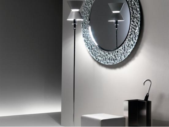 Fiam Italia - Venus Round Wall Hung Mirror (126cm Dia)