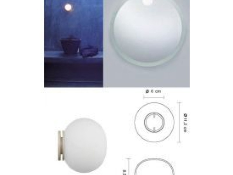 Flos Mini Glo Ball Ceiling Amp Wall Light