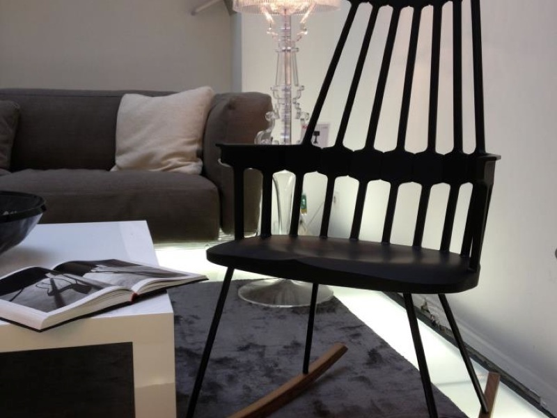 Red Rocking Chair Billy Strings ~ Kartell comback rocking chair scossa