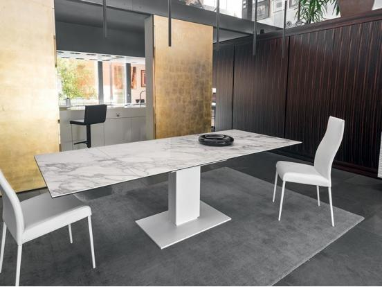Modern dining tables contemporary designer furniture for Calligaris echo