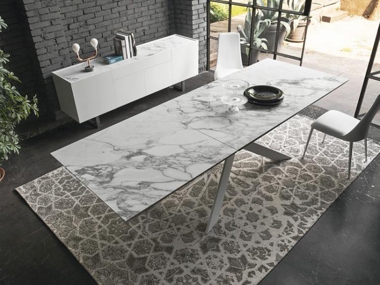 Calligaris eclisse ceramic top dining table 180 x 280 - Tavolo eclisse calligaris ...