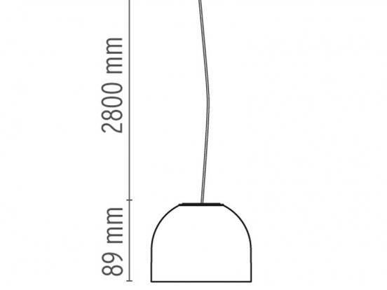 flos wan suspension light pendant. Black Bedroom Furniture Sets. Home Design Ideas