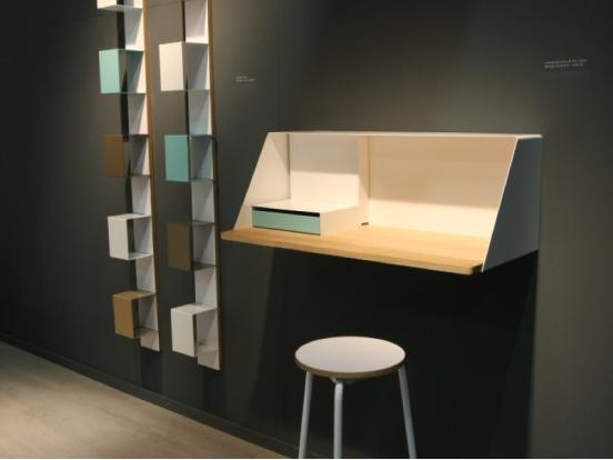 muller moebel ps03 wall hung desk. Black Bedroom Furniture Sets. Home Design Ideas