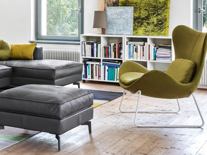 Calligaris Lazy Designer Recliner Chairs